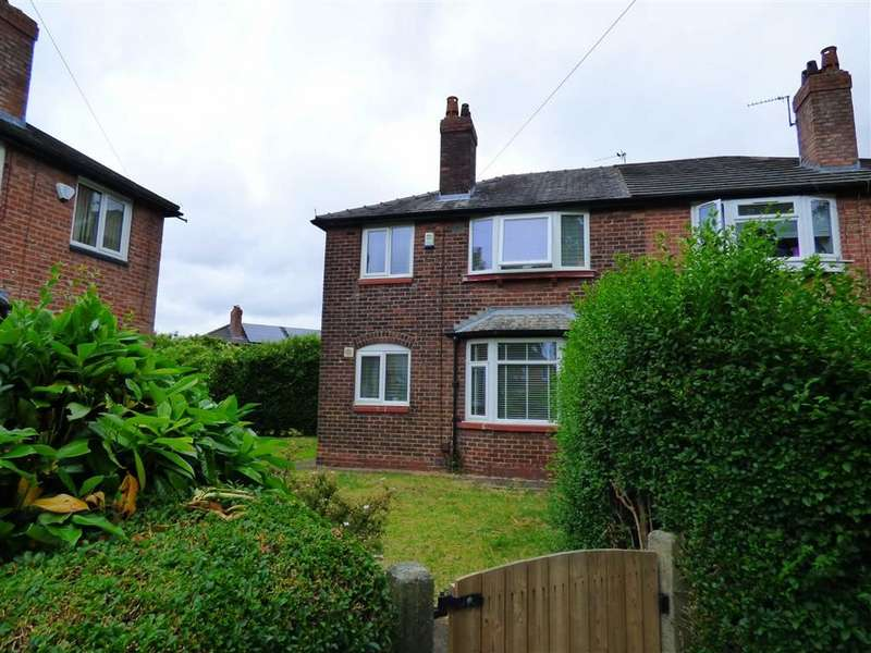 3 Bedrooms Semi Detached House for sale in Old Moat Lane, Withington, Manchester, M20