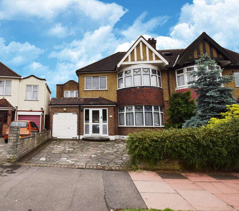 4 Bedrooms Semi Detached House for sale in Raeburn Avenue, Berrylands, Surrey