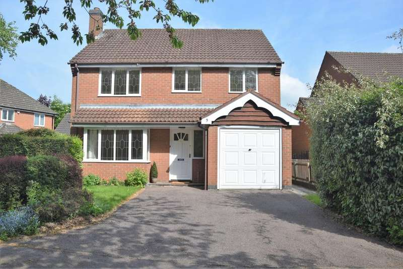 4 Bedrooms Detached House for sale in Woodcock Way, Ashby De La Zouch, LE65
