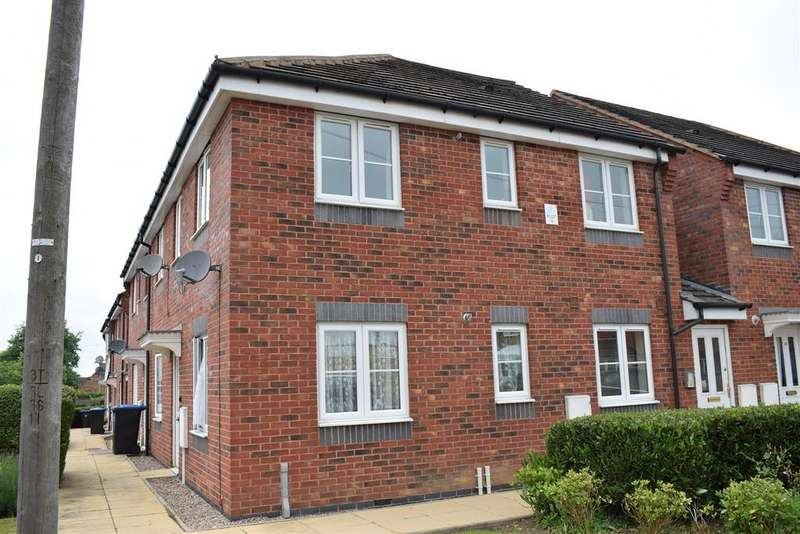 2 Bedrooms Apartment Flat for sale in 7 Willow Court, Lutterworth