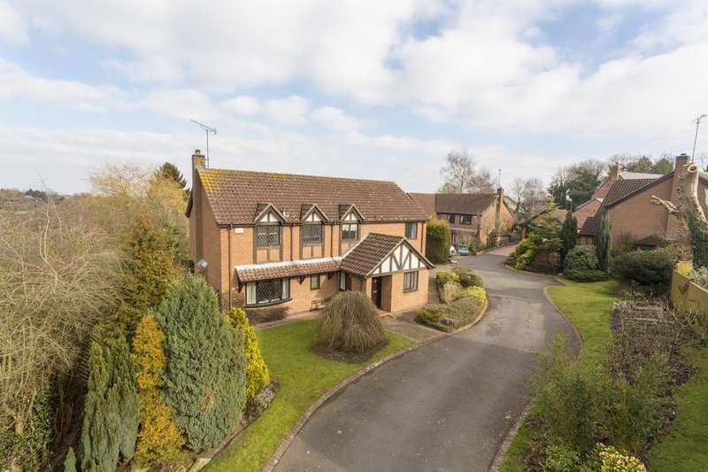 5 Bedrooms Detached House for sale in Wordsworth Close, Coleorton, LE67