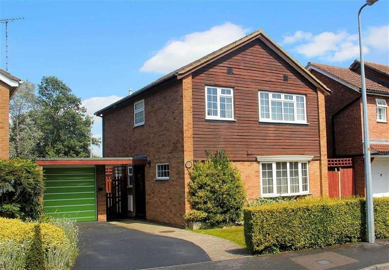 4 Bedrooms Detached House for sale in Dawlish Close, Bragbury End, SG2 8UQ