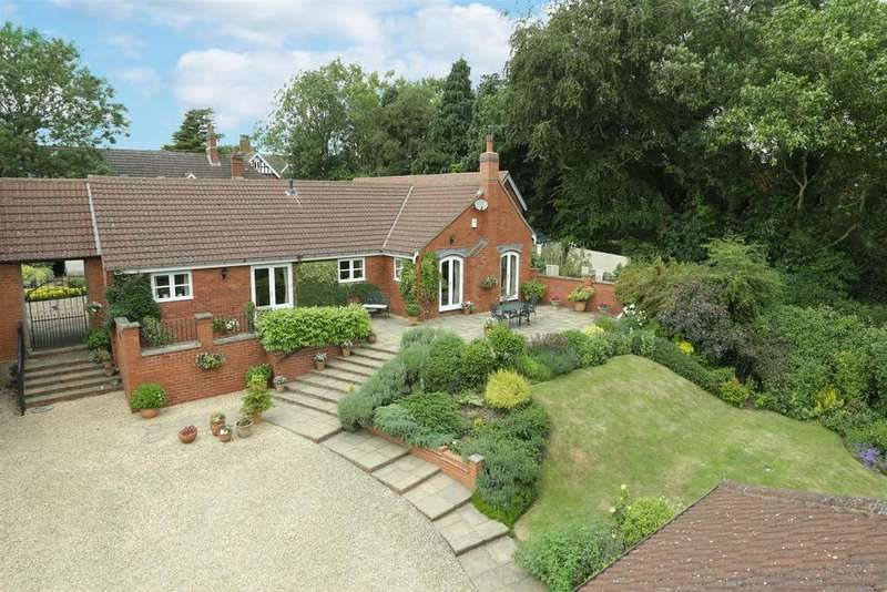 3 Bedrooms Detached Bungalow for sale in The Paddocks, Thorpe Satchville, Melton Mowbray
