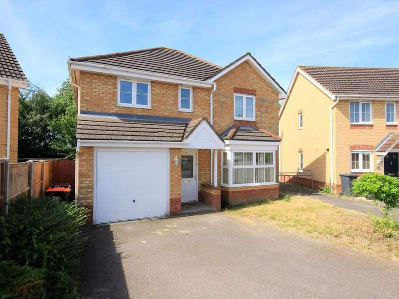 4 Bedrooms Detached House for sale in Farriers Way, Houghton Regis, LU5