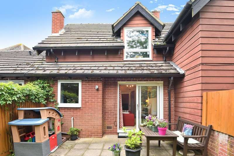 1 Bedroom Terraced House for sale in Marlborough Close, WESTON, SG4