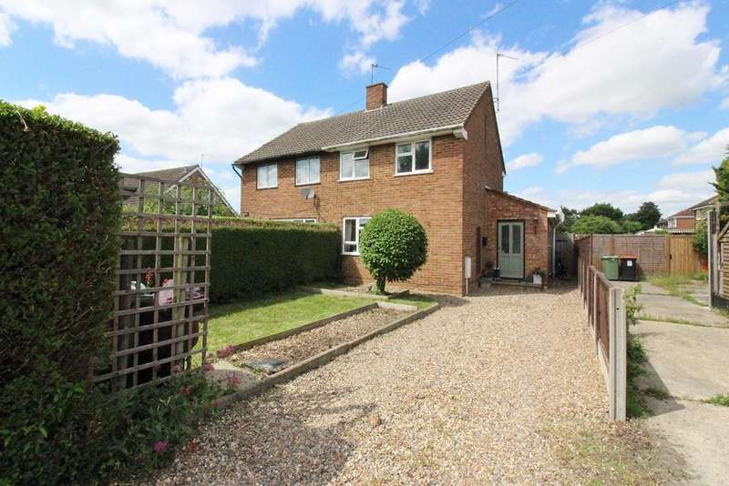 2 Bedrooms Semi Detached House for sale in Chiltern Road, Barton-le-Clay, Bedford, MK45