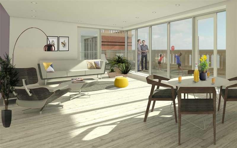 2 Bedrooms Apartment Flat for sale in Elizabeth Court, Westbrook Gardens, Margate