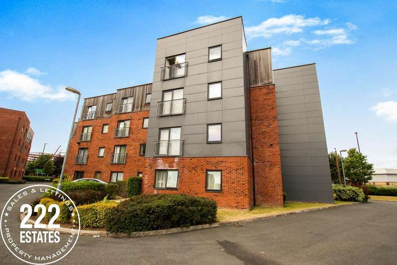 2 Bedrooms Apartment Flat for sale in Dutton Court, Warrington, WA1
