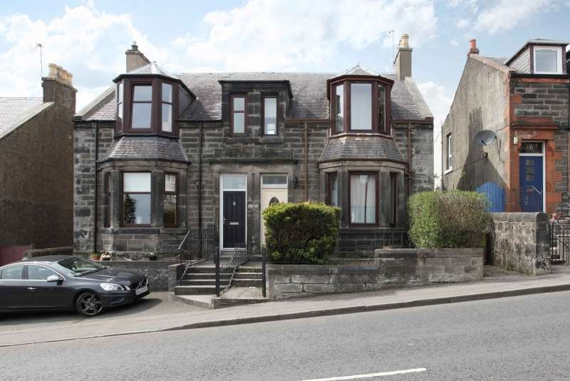 3 Bedrooms Semi Detached House for sale in Townhill Road, Dunfermline, Fife, KY12 0BP