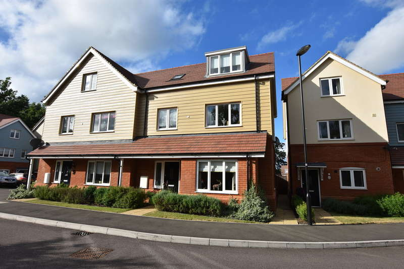 3 Bedrooms Semi Detached House for sale in Aurora Close, Garston Watford