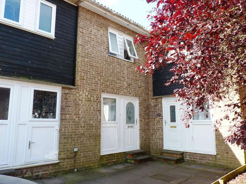2 Bedrooms Terraced House for sale in Poplar Close, Sandy SG19