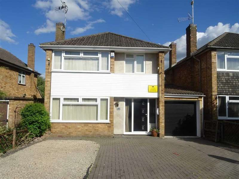 3 Bedrooms Detached House for sale in Frewin Drive, Sapcote