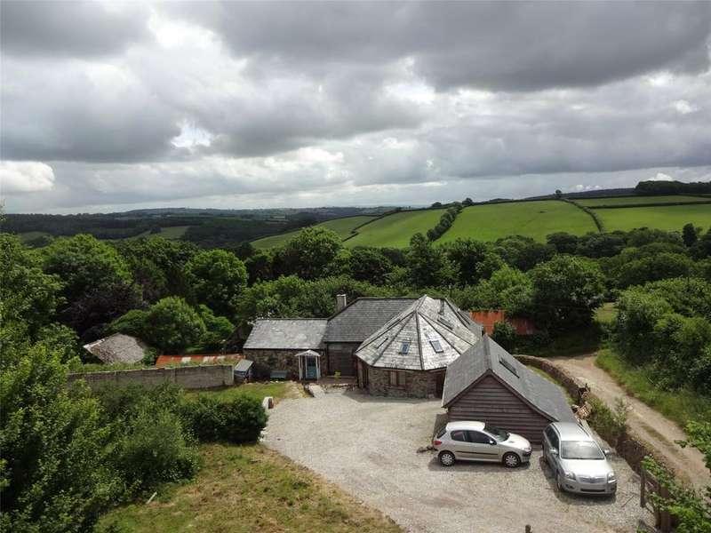 4 Bedrooms Detached House for sale in Trekenner, Launceston