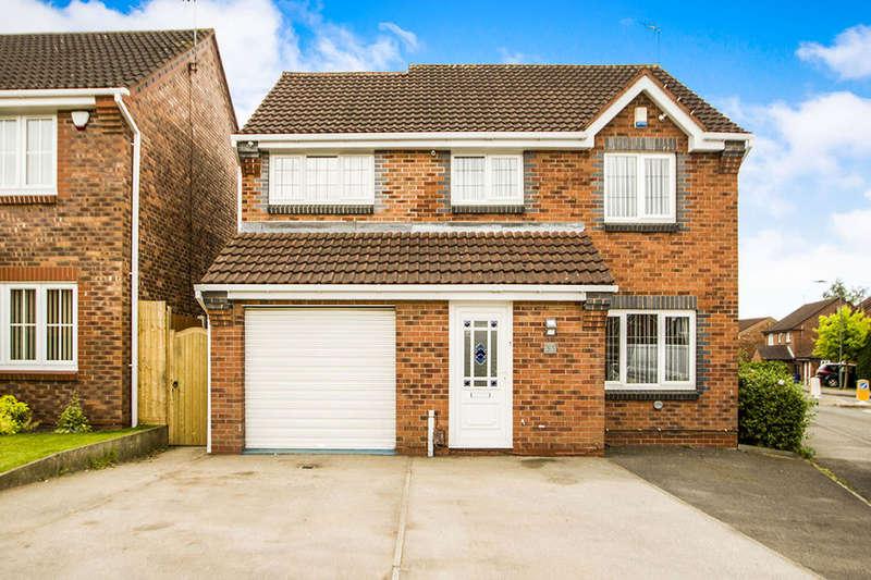 4 Bedrooms Detached House for sale in Mason Road, Ilkeston, DE7