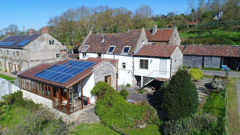 4 Bedrooms Barn Conversion Character Property for sale in Mudgley, Wedmore