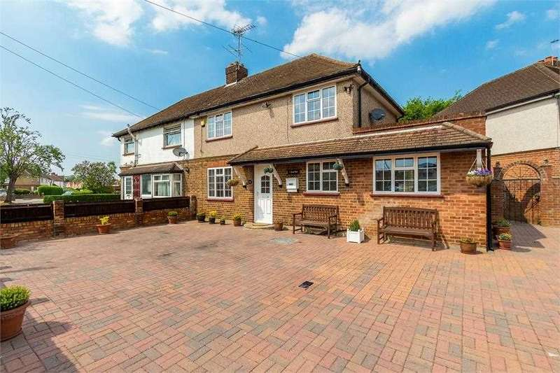 3 Bedrooms Semi Detached House for sale in South Road,, West Drayton