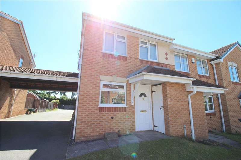 2 Bedrooms Semi Detached House for sale in Willowside Green, Spondon, Derby, Derbyshire, DE21