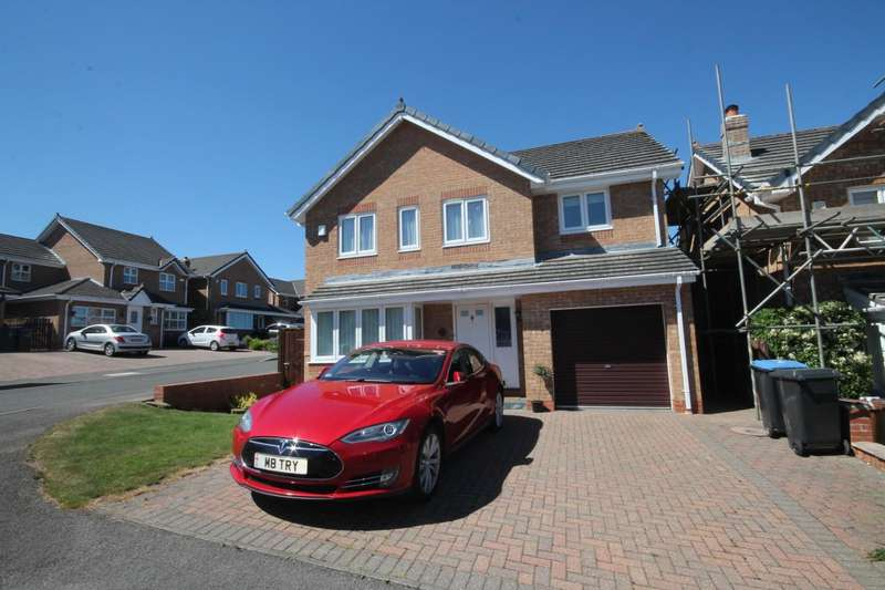 4 Bedrooms Detached House for sale in Barrington Meadows, Bishop Auckland