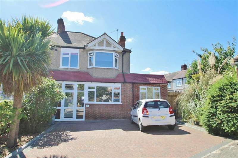 3 Bedrooms End Of Terrace House for sale in Cherry Close, Morden, SM4