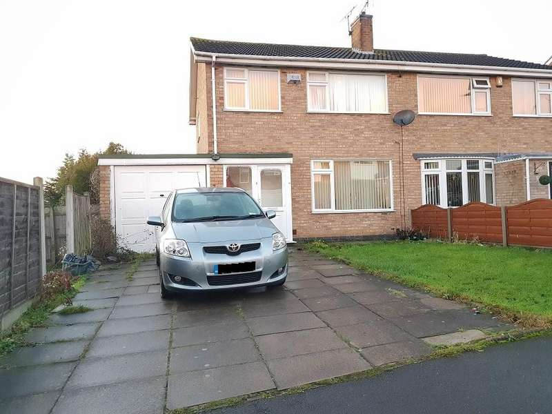 3 Bedrooms Semi Detached House for sale in Windrush Drive, Oadby, Leicester, LE2