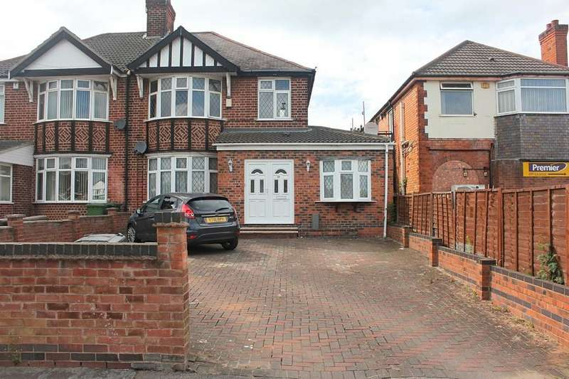 5 Bedrooms Semi Detached House for sale in Narborough Road South, Leicester