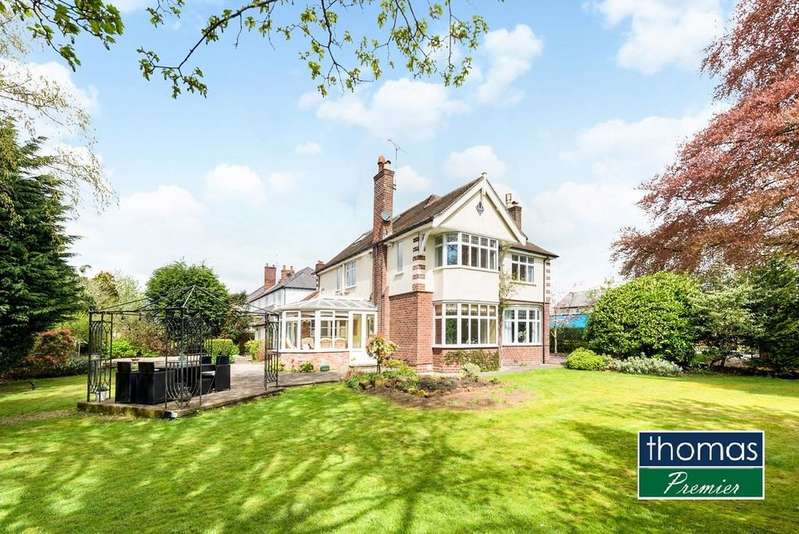 4 Bedrooms Detached House for sale in Christleton, Chester, CH3