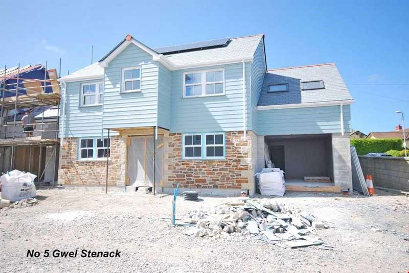 4 Bedrooms Detached House for sale in Blackwater, Nr. Truro, Cornwall, TR4