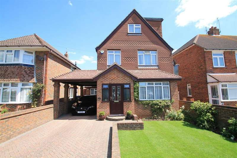 5 Bedrooms Detached House for sale in Cross Road, Southwick, Brighton