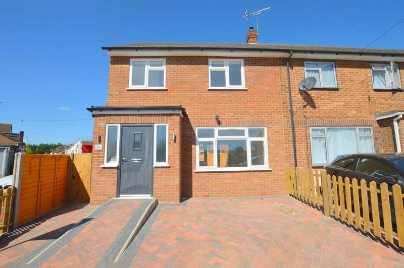 2 Bedrooms End Of Terrace House for sale in Nursery Road, Luton, Bedfordshire, LU3 2QP