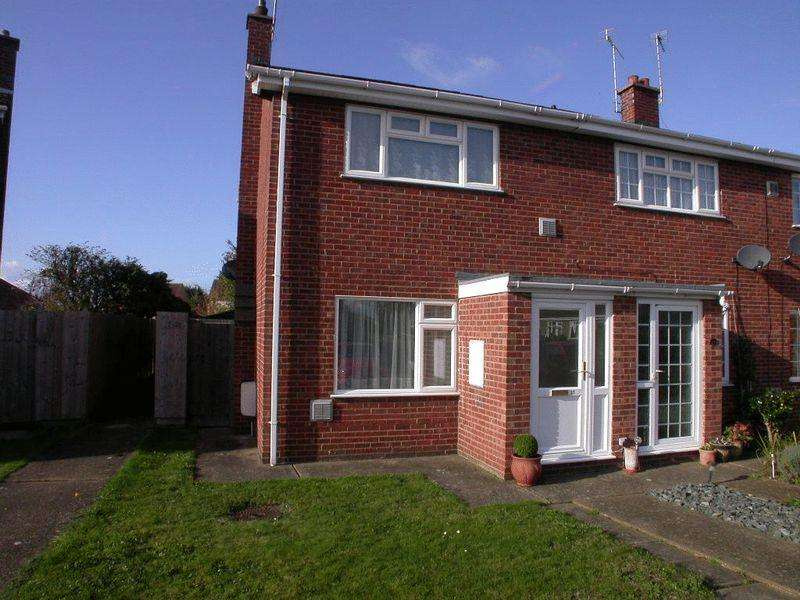 2 Bedrooms End Of Terrace House for sale in 13 Canberra Close, Coningsby