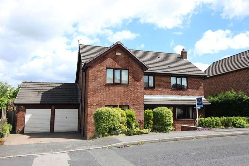 5 Bedrooms Detached House for sale in Grantham Drive, Bury, BL8