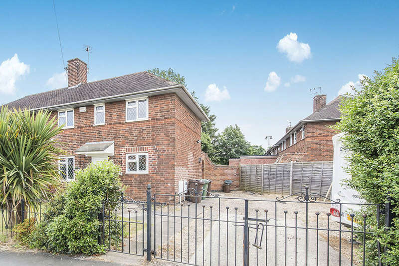 3 Bedrooms Semi Detached House for sale in Woodthorpe Road, LOUGHBOROUGH, LE11