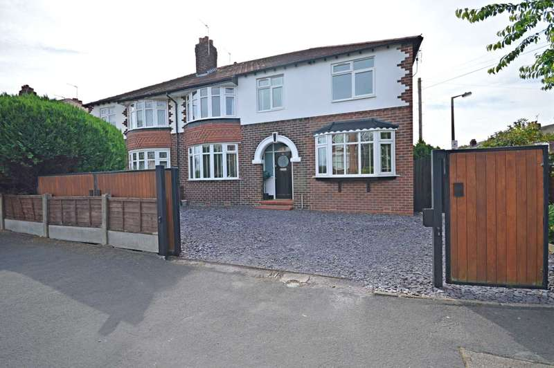 4 Bedrooms Semi Detached House for sale in Ladybridge Road, Cheadle Hulme