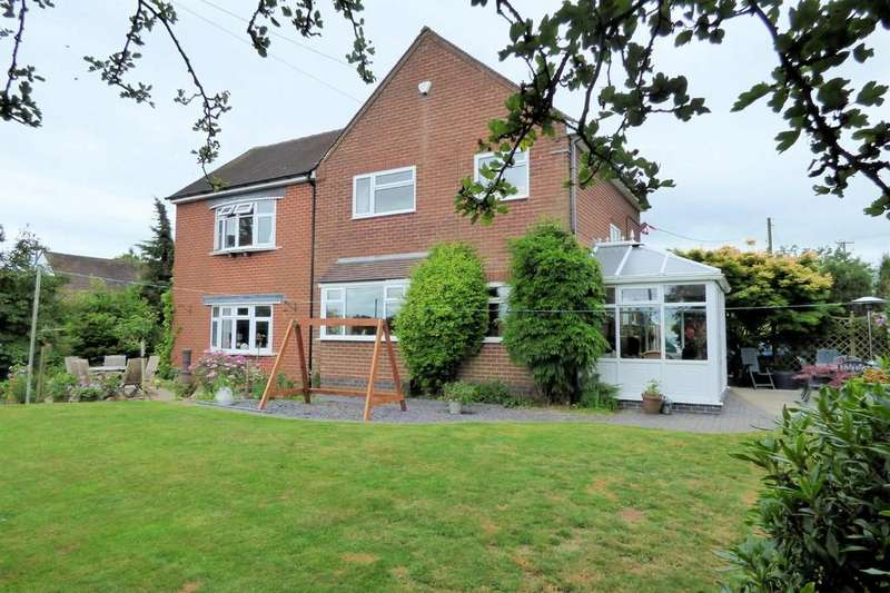 5 Bedrooms Detached House for sale in Combridge, Uttoxeter