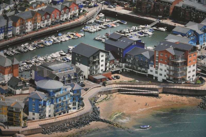 2 Bedrooms Flat for sale in REGATTA COURT, EXMOUTH MARINA, EXMOUTH, NR EXETER, DEVON