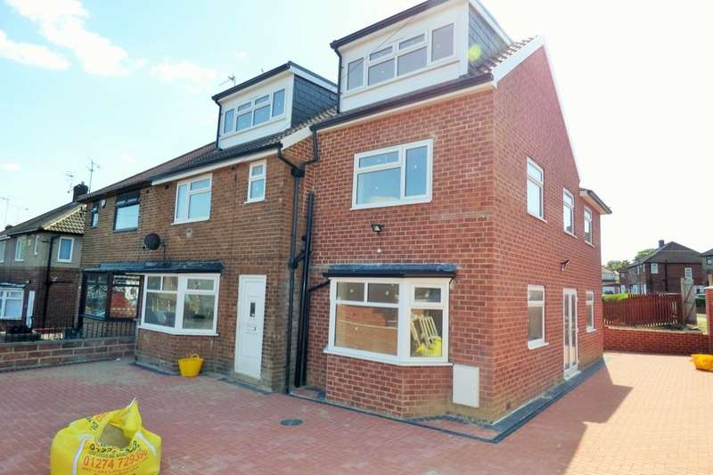 6 Bedrooms Semi Detached House for sale in St. Wilfrids Close, Bradford, BD7