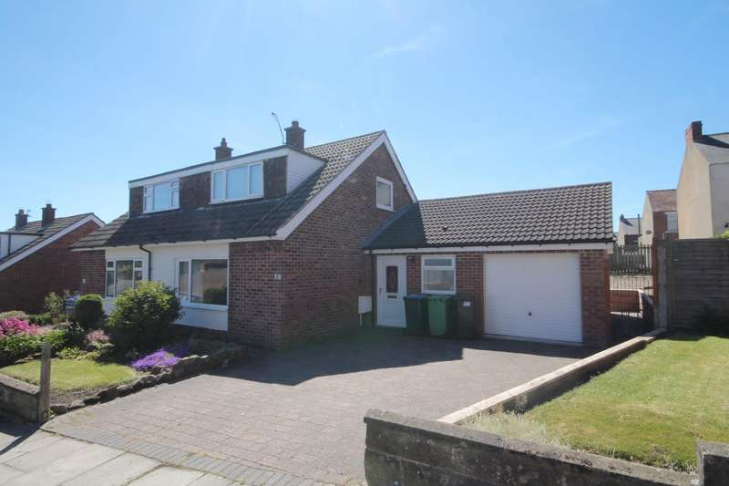 3 Bedrooms Semi Detached Bungalow for sale in Granville Avenue, Shildon