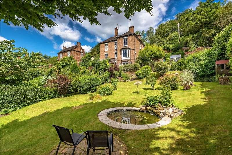 4 Bedrooms Semi Detached House for sale in Hazeldene, 7 Cherry Tree Hill, Coalbrookdale, Shropshire, TF8