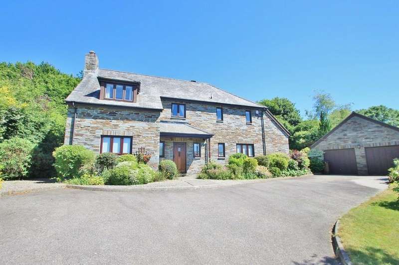 4 Bedrooms Detached House for sale in Orchard Close, St. Mellion