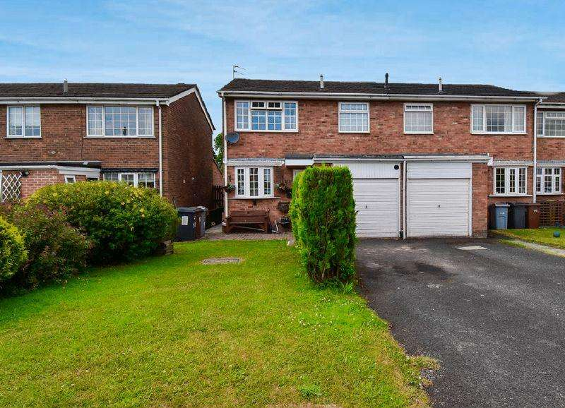 3 Bedrooms End Of Terrace House for sale in Essex Close, Congleton