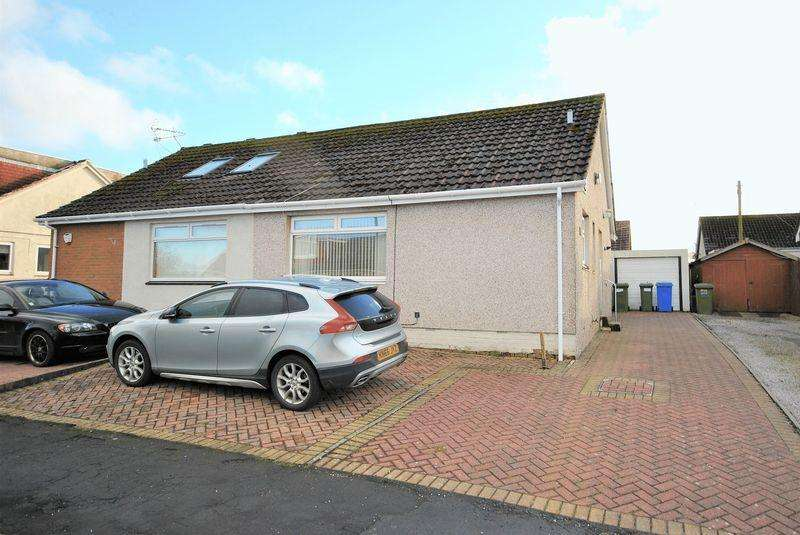 2 Bedrooms Semi Detached Bungalow for sale in 62 Hunter Road, Crosshouse KA2 0LD