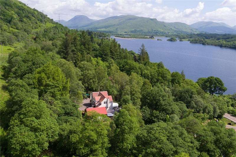 4 Bedrooms Detached House for sale in Airidh Cruachan, Lochawe, Dalmally, Argyll and Bute