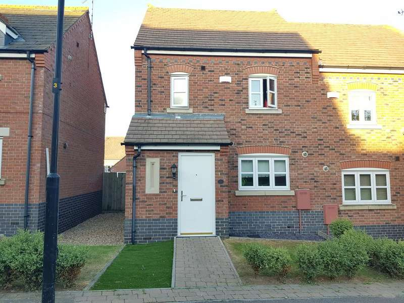 3 Bedrooms Semi Detached House for sale in Bridge Green, Birstall