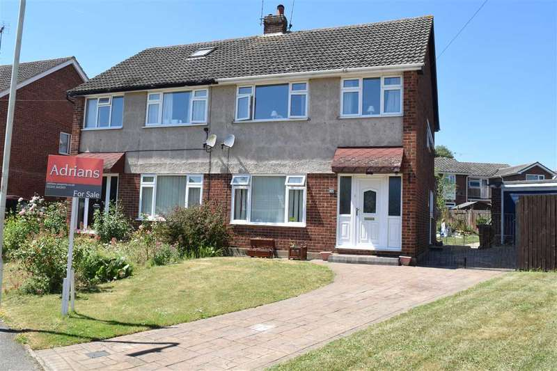 4 Bedrooms Semi Detached House for sale in Glebe Crescent, Broomfield, Chelmsford
