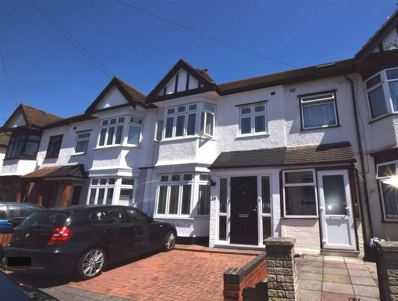 4 Bedrooms Terraced House for sale in Mansted Gardens, Chadwell Heath, Romford