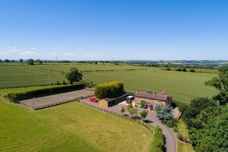 5 Bedrooms Detached House for sale in Gaddesby Lane, Kirby Bellars