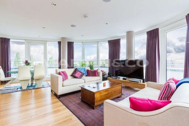3 Bedrooms Penthouse Flat for sale in **PENTHOUSE** Kew Bridge Development