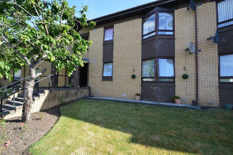 2 Bedrooms Flat for sale in Dunlop Terrace, Ayr, South Ayrshire, KA8 0SP