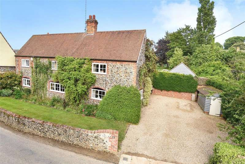 4 Bedrooms Detached House for sale in The Street, Dalham, Newmarket, Suffolk, CB8