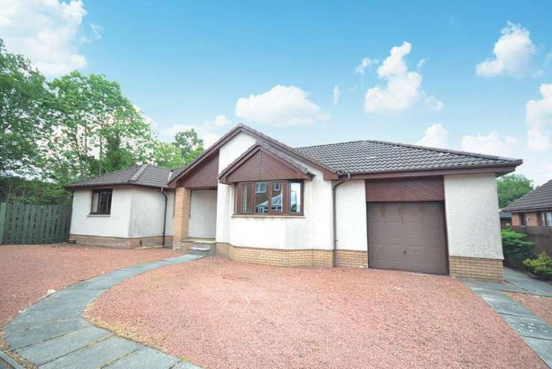 4 Bedrooms Detached Bungalow for sale in 28 Hillview Road, Darvel, KA17 0DQ